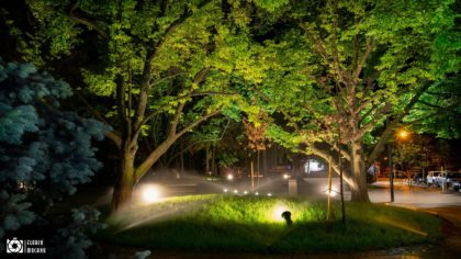 Galati bei Nacht