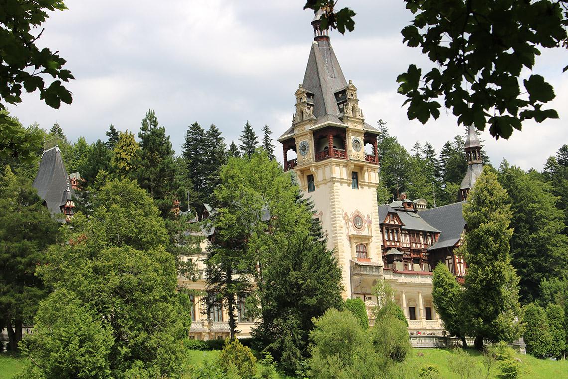 Schloss Peles äußere