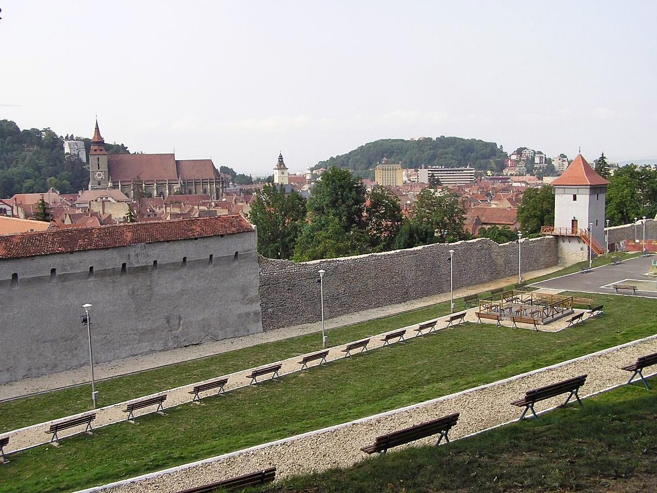 Kronstadt Stadtmauer