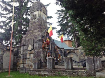 Das Denkmal der Helden von Grozavesti