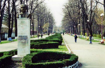 Monumentul lui Mircea Cancicov