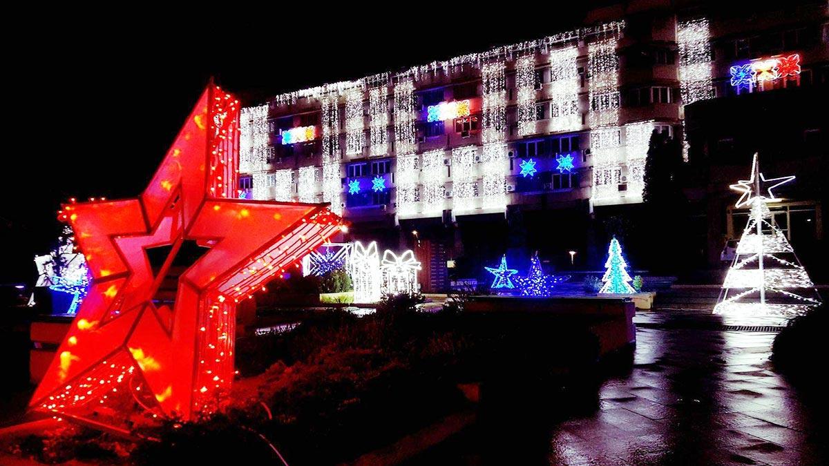 Weihnachtszeit  / Lichtermeer