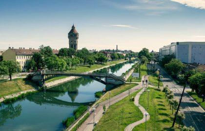 Bega am Ausgang von Timisoara