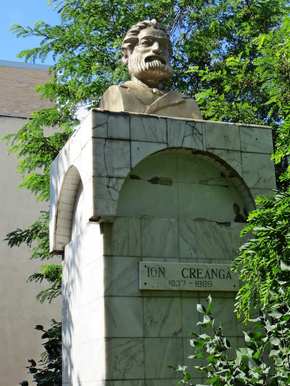 Büste von Ion Creanga