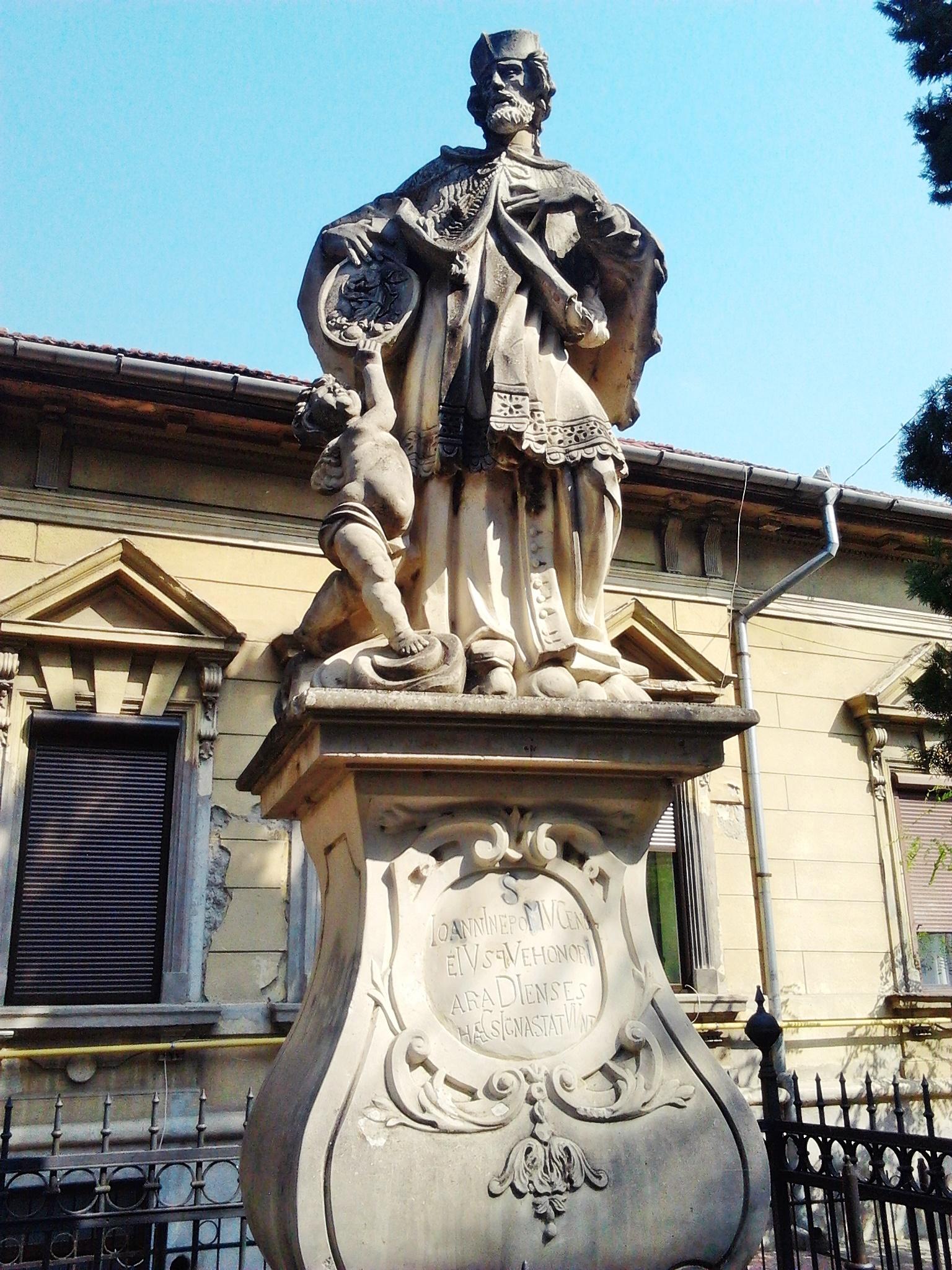 Statuia Sf. Nepomuk