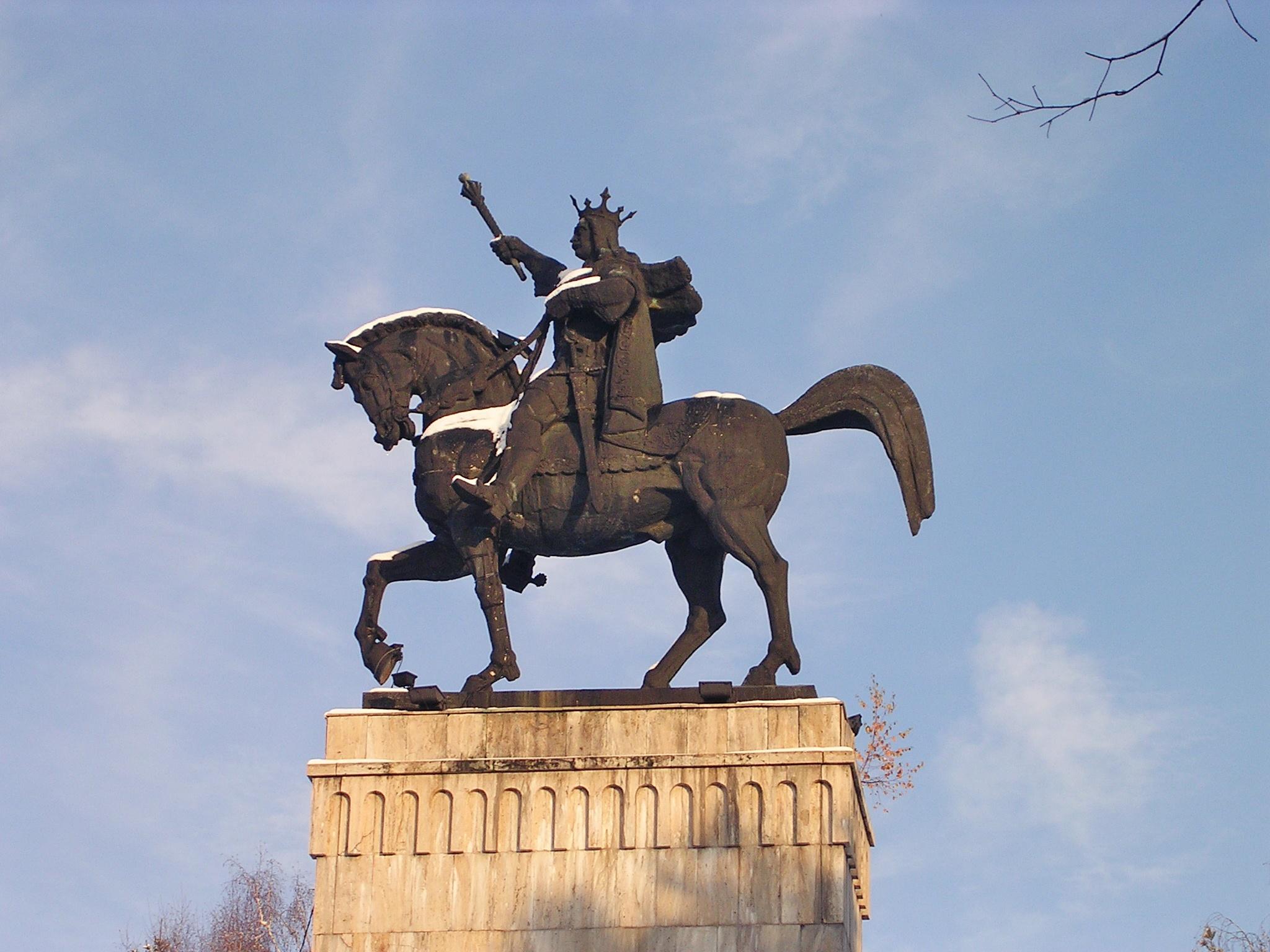 Statue von Stephan dem Großen
