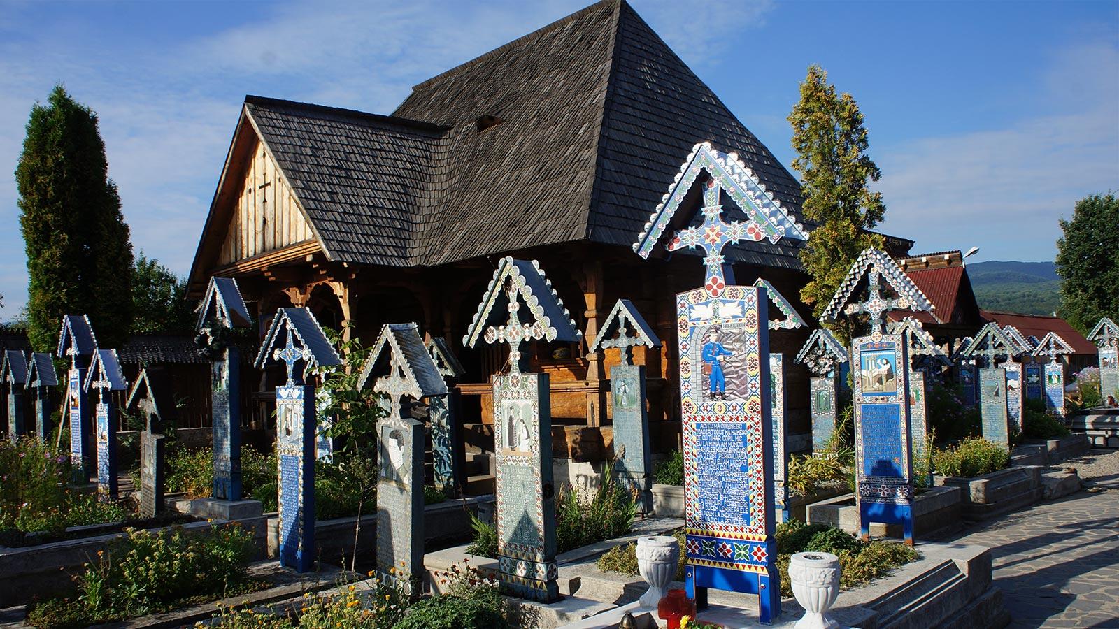 Der fröhliche Friedhof von Săpânța