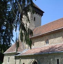 Befestigte kirche von Malancrav <br> 24 Km von Sighisoara