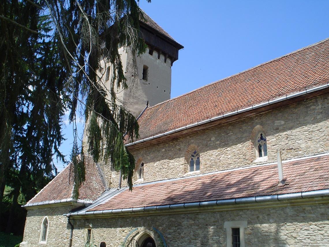 Befestigte kirche von Malancrav